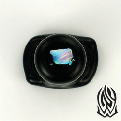 Glasswear Pyrex Glass Raw Opal Labret 0g - 5/8""
