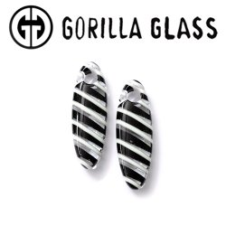 Gorilla Glass Linear Cocoons 1oz Ear Weights 10mm (000g) And Up (Pair)