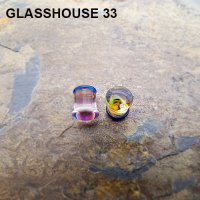 Glasshouse 33 Angst Double Flare Plugs 00 Gauge 00g (Pair)