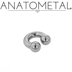 Anatometal Stainless Surgical Steel Circular Barbell 4 Gauge 4g