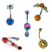 Navel Curves & Belly Rings