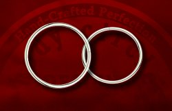 Body Circle Surgical Stainless Steel Oversized Large Continuous Seam Ring 6g 6 Gauge