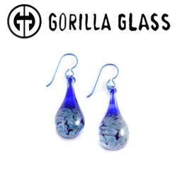 Gorilla Glass Zoa Earrings (Pair)