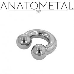 Anatometal Stainless Surgical Steel Circular Barbell 00g