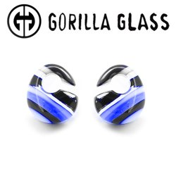 "Gorilla Glass Linear Kettlebells 0.7oz Ear Weights 9/16"" And Up (Pair)"