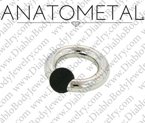 Anatometal Surgical Stainless Steel Rubber Ball Captive Bead Ball
