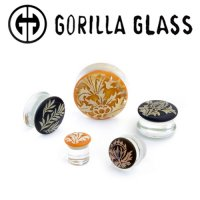 "Gorilla Glass Torian Plugs 1/2"" to 1"" (Pair)"
