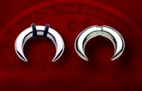Body Circle Stainless Surgical Steel Septum Crescents 6g