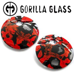 "Gorilla Glass Power Eclipse 4.2oz Ear Weights 7/8"" And Up (Pair)"