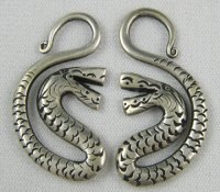 Miao Silver S-Curve Snakes 10g (Pair)