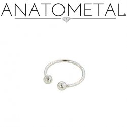 Anatometal Stainless Surgical Steel Circular Barbell 16 Gauge 16g