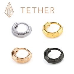 "Tether Jewelry Stainless Steel ""Tharsis"" Clicker 14 Gauge 14g"