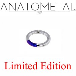 "Anatometal Titanium 3/8"" Segment Ring 10 Gauge 10g Limited Edition"