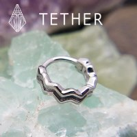 "Tether Jewelry Stainless Steel ""Pulse\"" Clicker 14 Gauge 14g"