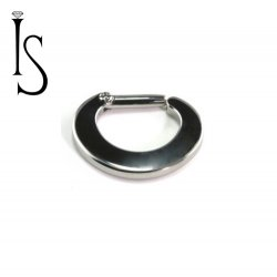 Industrial Strength Titanium Septum Clickers 12G 12 gauge