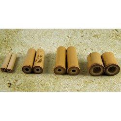 "Bamboo Subang Plugs 4g-1&1/8"" (Pair) 5mm-28.5mm"