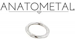 Anatometal Surgical Stainless Steel Seam Continuous Ring 10g 10 Gauge