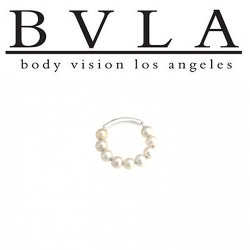 BVLA 14kt Gold Adonica Septum Ring 16g Body Vision Los Angeles