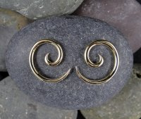 Little Seven Brass Spiral 14g 12g 10g 8g 6g 4g (Pair)