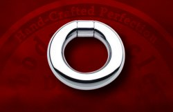 Body Circle Surgical Stainless Steel Captive Bar Segment Ring 0g 0 Gauge