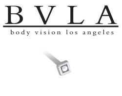 BVLA 14kt Yellow White Rose Gold Square Dot Nostril Screw Nose Bone Nail Ring Stud 20g 18g 16g Body Vision Los Angeles