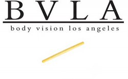 BVLA 14kt Gold Shaft Only Barbell 12g Body Vision Los Angeles