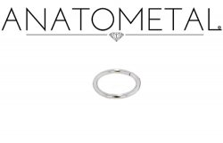 Anatometal Surgical Stainless Steel Seam Continuous Ring 16 Gauge 16g