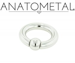 Anatometal Surgical Stainless Steel Captive Bead Ball Closure Ring 4g 4 Gauge