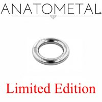 "Anatometal Surgical Steel 3/4"" Segment Ring 6 Gauge 6g Limited Edition"