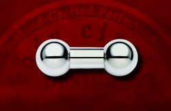 "Body Circle Surgical Stainless Steel 1/2"" Straight Barbell 2 Gauge 2g"