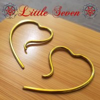 "Little Seven Niobium Small ""Erosica\"" Hanging Designs 12 Gauge 12g (Pair)"