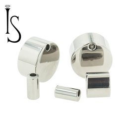 Industrial Strength Titanium Septum Clicker Gauge Adapters