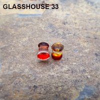 Glasshouse 33 Wrath Double Flare Plugs 0 Gauge 0g (Pair)
