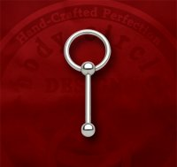 Body Circle Surgical Stainless Steel Slave Barbell Captive Bead Ball Closure Ring 12g 12 Gauge