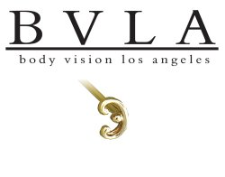 BVLA 14kt Yellow White Rose Gold 6x3.5mm Curly Nostril Screw Nose Bone Nail Ring Stud 20g 18g 16g Body Vision Los Angeles