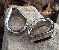 "Anatometal Surgical Stainless Steel Teardrop Eyelet 7/16"" - 6"""