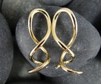 Little Seven Brass Spiral Twist Cthulhu 14g 12g 10g 8g 6g (Pair)