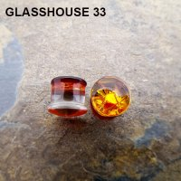 "Glasshouse 33 Wrath Double Flare Plugs 0g to 1"" (Pair)"