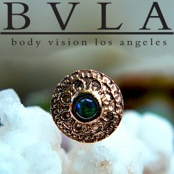 BVLA 14kt Yellow White Rose Gold Nanda Nostril Screw Nose Bone Nail Ring Stud 20g 18g 16g Body Vision Los Angeles