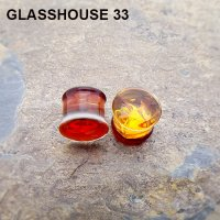 "Glasshouse 33 Wrath Double Flare Plugs 9/16"" (Pair)"