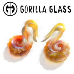 Gorilla Glass Nautilus Weights 8g 6g 4g (Pair)