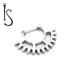 Industrial Strength Titanium Septum Clicker #26 16 Gauge 14 Gauge 12 Gauge 16g 14g 12g