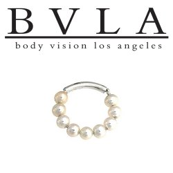 BVLA 14kt Gold Adonica Septum Ring 18g Body Vision Los Angeles