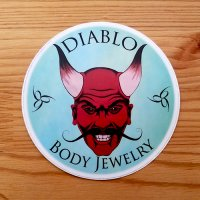 DiabloBodyJewelry Sticker 4""