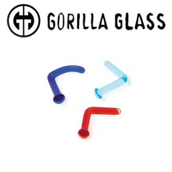Gorilla Glass Simple Nostril Screws 18g 16g 14g 12g