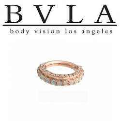 BVLA Mandalay 14kt Gold Septum Ring 14g Body Vision Los Angeles