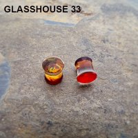 Glasshouse 33 Wrath Double Flare Plugs 00 Gauge 00g (Pair)