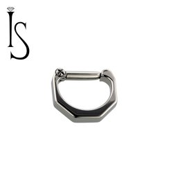 Industrial Strength Titanium Septum Clicker #24 16 Gauge 14 Gauge 12 Gauge 16g 14g 12g