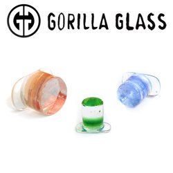 Gorilla Glass Deluxe Dichroic Labrets 0 Gauge to 1""