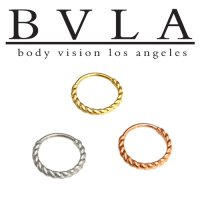 BVLA 14kt Gold Desiree Septum Ring 20g Body Vision Los Angeles